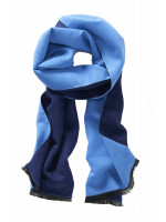 Sky and Navy Scarf