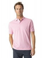 Milford Pink 100% Pique Cotton Polo Shirt