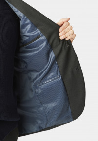 Dijon Charcoal Tailored Fit Three Piece Suit Jacket