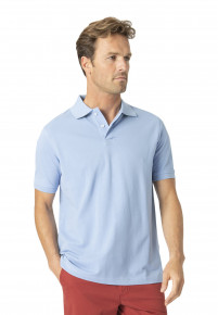 Milford Powder 100% Pique Cotton Polo Shirt