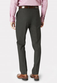 Monaco Charcoal Tailored Fit Trouser