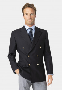 Reigate Pure New Wool Double Breasted Blazer