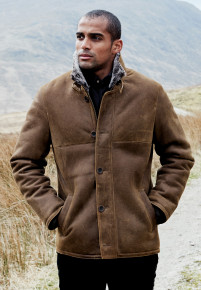 Snowdon Shearling Leather Jacket