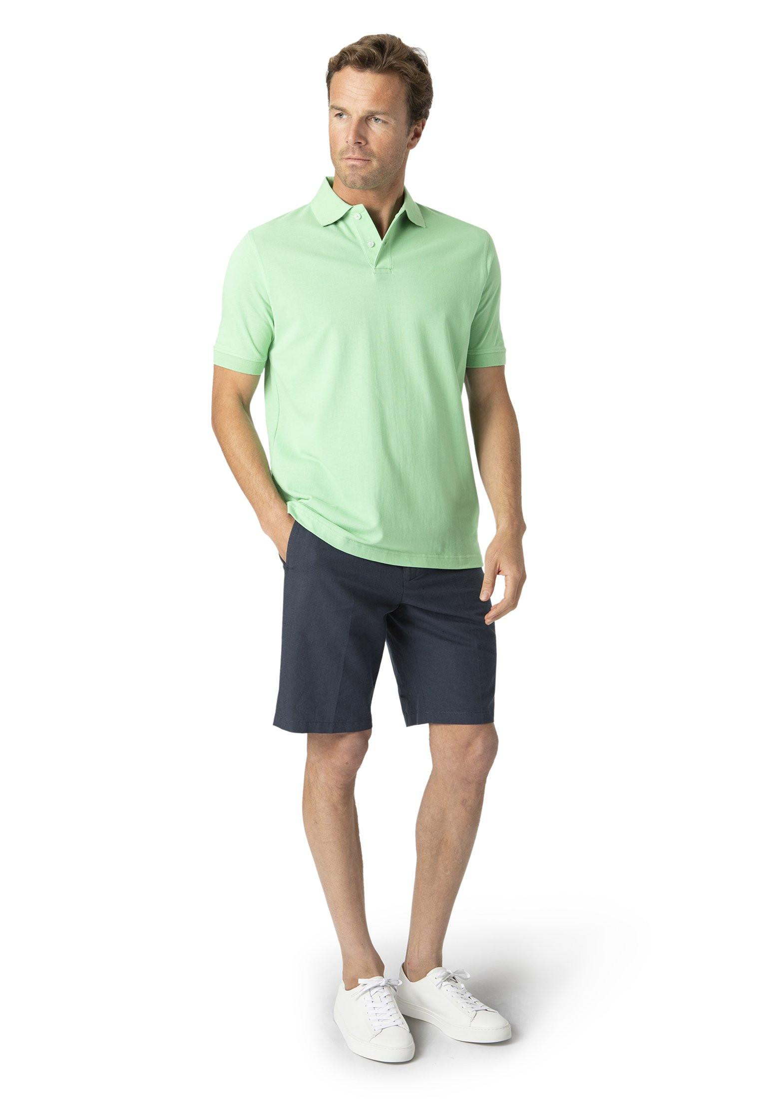 Milford Apple 100% Pique Cotton Polo Shirt
