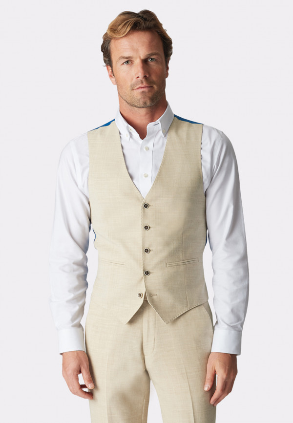 Constable Natural Tailored Fit Suit Waistcoat