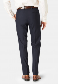 Monaco Navy Tailored Fit Trouser